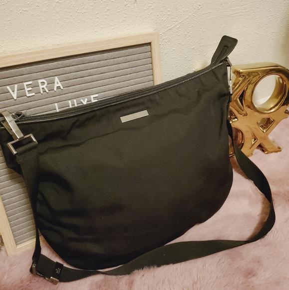 Gucci nylon sling bag/messenger bag